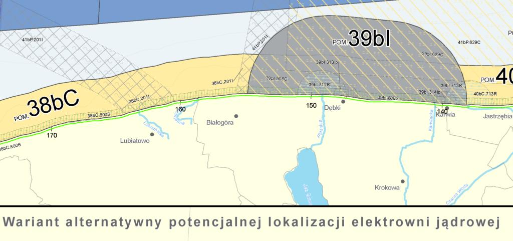 Plan dla elektrowni jądrowej
