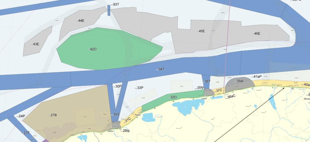 Morskie farmy wiatrowe-plan
