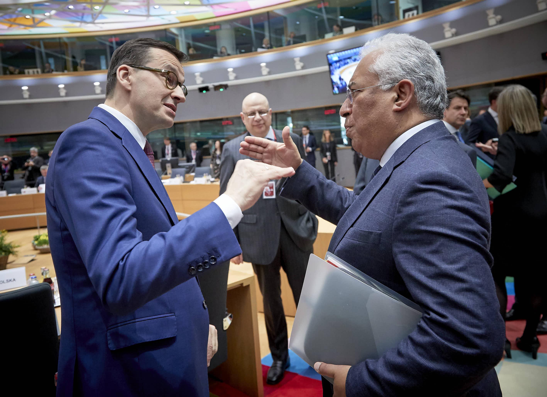 Mateusz Morawiecki i premier Portugalii Andre Costa prezentują wysokie aspiracje budżetowe
